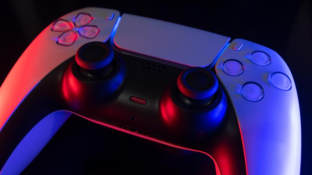 DualSense controller black background