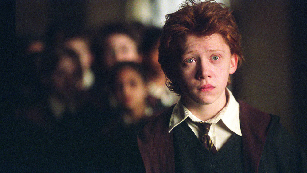 Ron Weasley confused