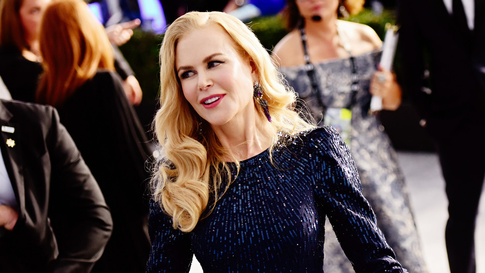 Nicole Kidman on the red carpet