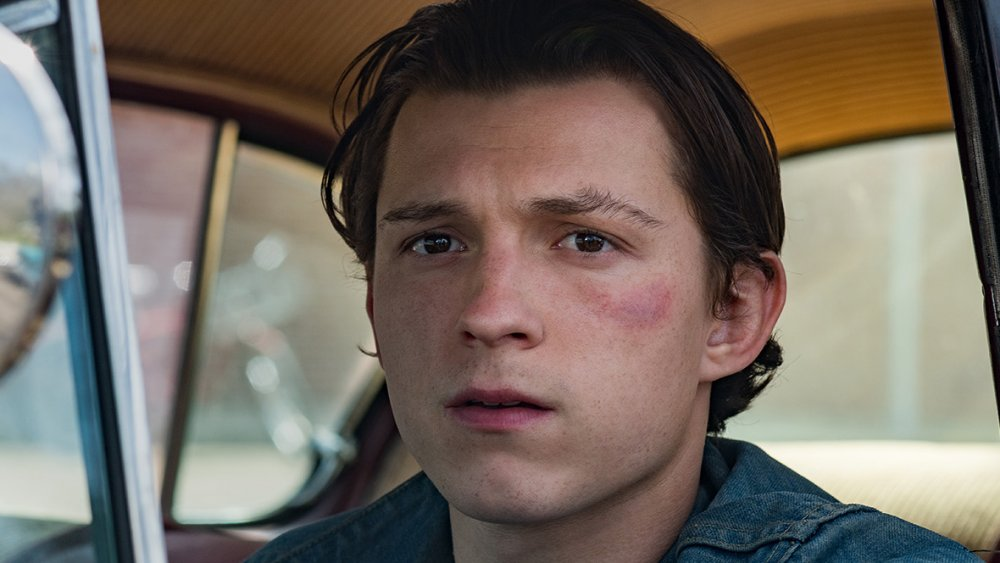 Tom Holland as Arvin Russell in The Devil All the Time