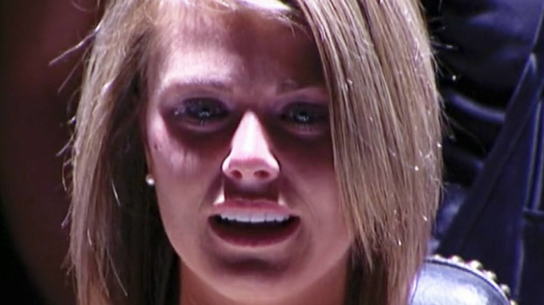 Fear Factor contestant crying