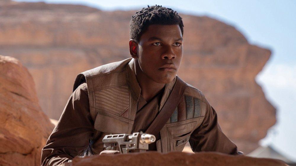 John Boyega as Finn in Star Wars