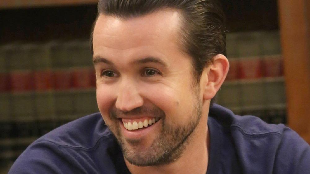 Mac smiling