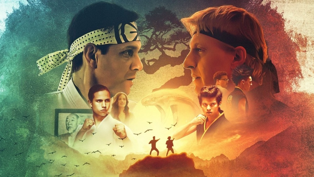 Daniel LaRusso Johnny Lawrence Cobra Kai poster