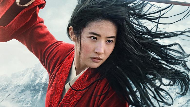 Liu Yifei as Mulan for Disney's live-action remake film