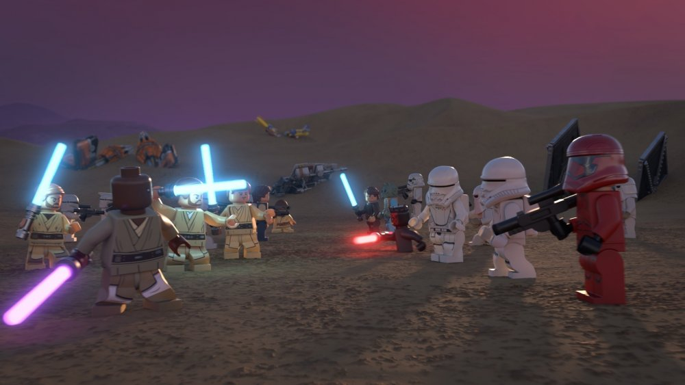 LEGO Light Side versus LEGO Dark Side in the LEGO Star Wars Holiday Special