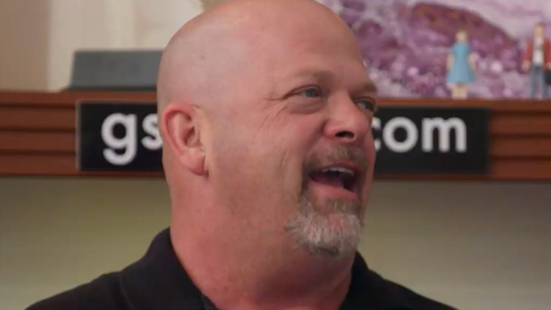 Rick Harrison talking