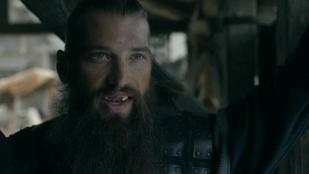 Brent Burns smiling in Vikings