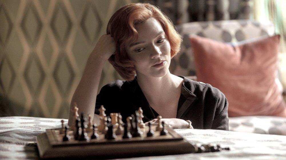 Anya Taylor-Joy stars as Beth Harmon on Netflix's The Queen's Gambit
