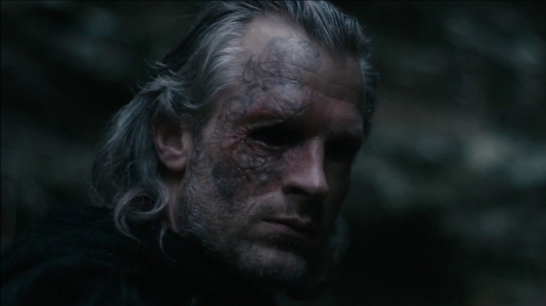 André Eriksen as Odin in Vikings