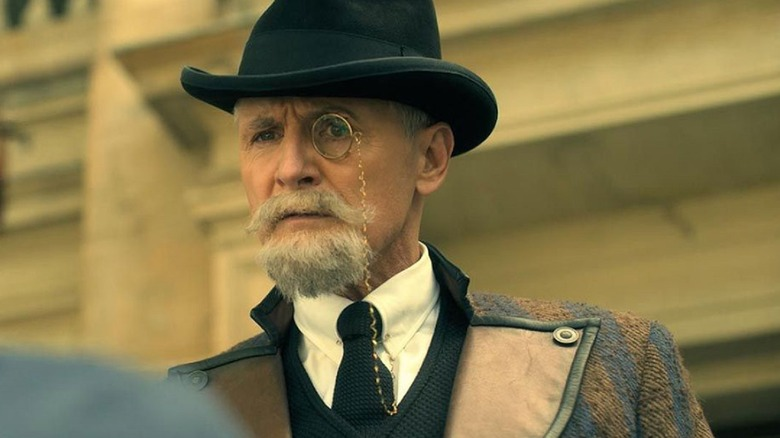 Colm Feore as Reginald Hargreeves on The Umbrella Academy