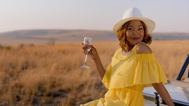 Fulu Mugovhani as Dineo in Seriously Single