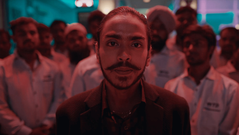 Adarsh Gourav mustache