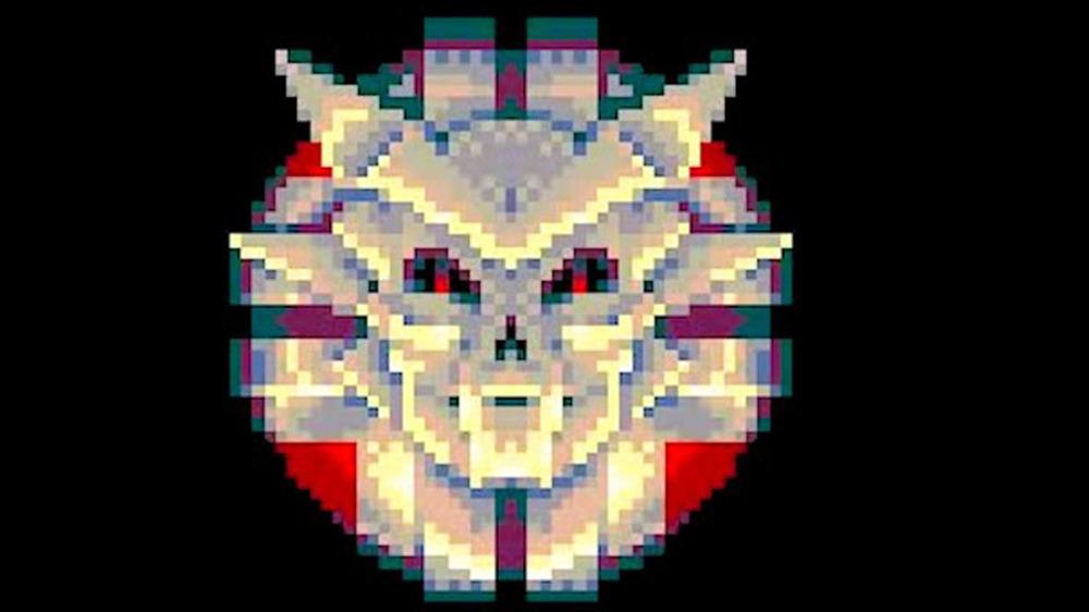 sinistar title screen