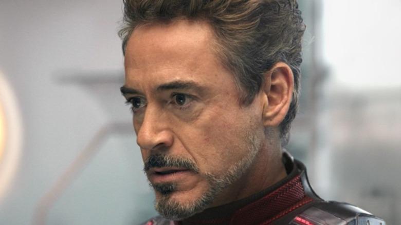 Tony Stark unmasked