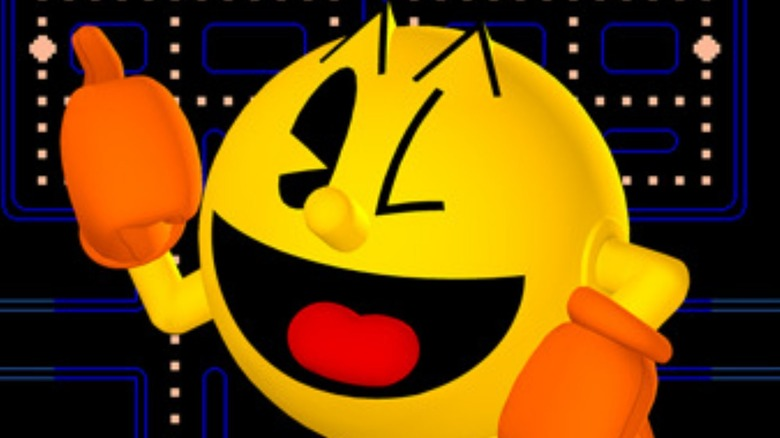 Pac-Man thumbs up