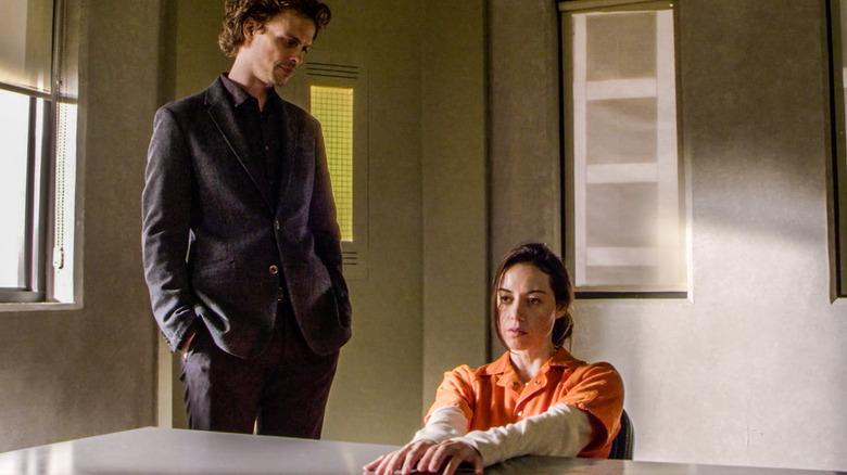 Cat Adams in jail with Dr. Spencer Reid