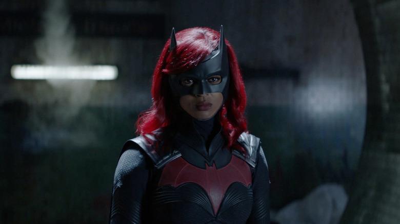 Ryan Wilder in Batwoman suit