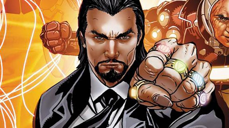 Mandarin from Invincible Iron Man Vol 1 511 cover