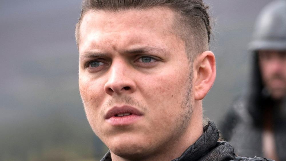 Ivar the Boneless furrowing brows