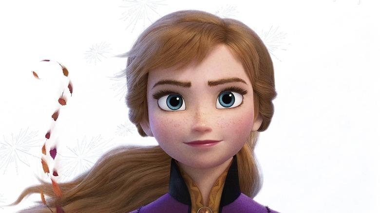Kristen Bell as the voice of Anna in Frozen II
