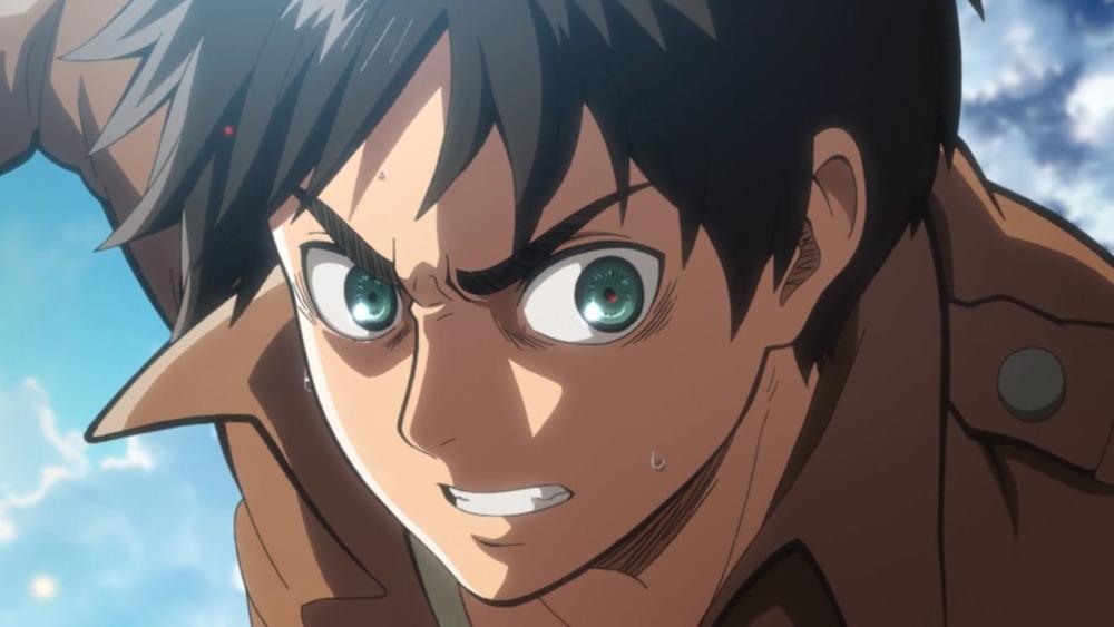 Eren Jaeger angry