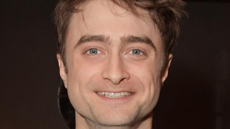 Daniel Radcliffe posing