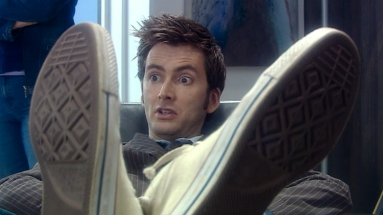 David Tennant as The Tenth Doctor on Doctor Who