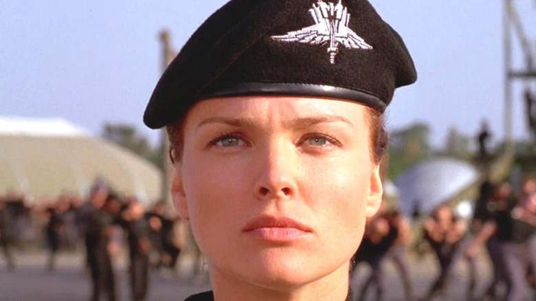 The Real Reason Dina Meyer Got The Role Of Starship