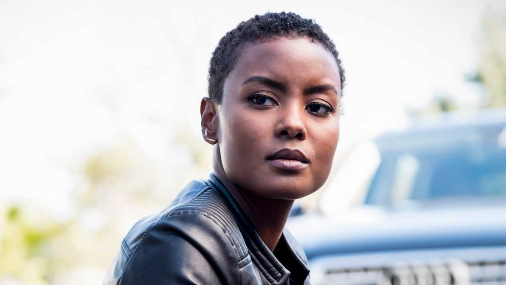 Andrea Bordeaux as Special Agent Harley Hidoko in NCIS: Los Angeles