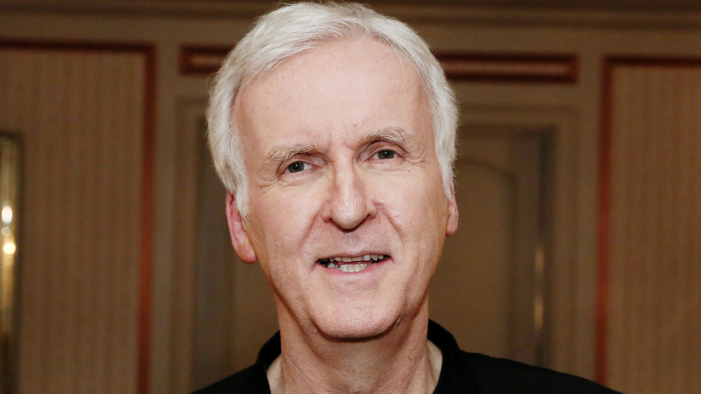 James Cameron smiling