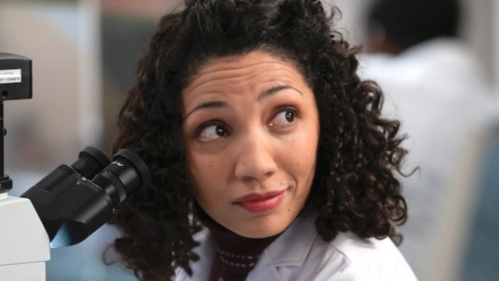 Good Doctor Jasika Nicole smiling