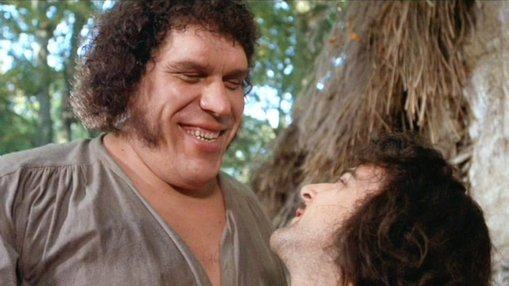 Andre the Giant as Fezzik in The Princess Bride