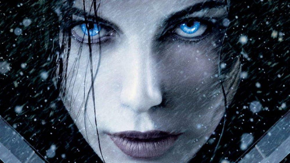 Kate Beckinsale as the Underworld franchise' Selene