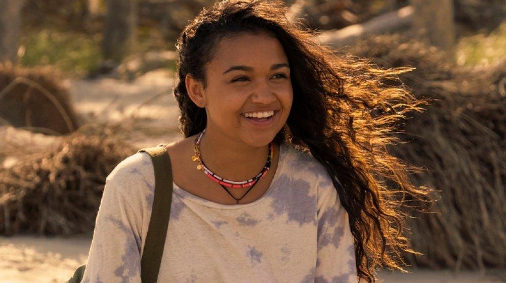 Madison Bailey as Kiara on Outer Banks