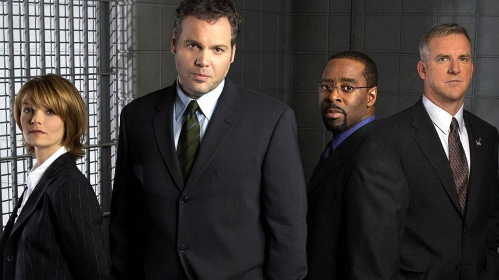 the original cast of Law and Order: Criminal Intent as they appeared in season one