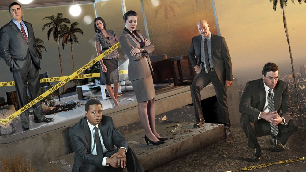 A promotional poster for NBC's Law & Order: LA
