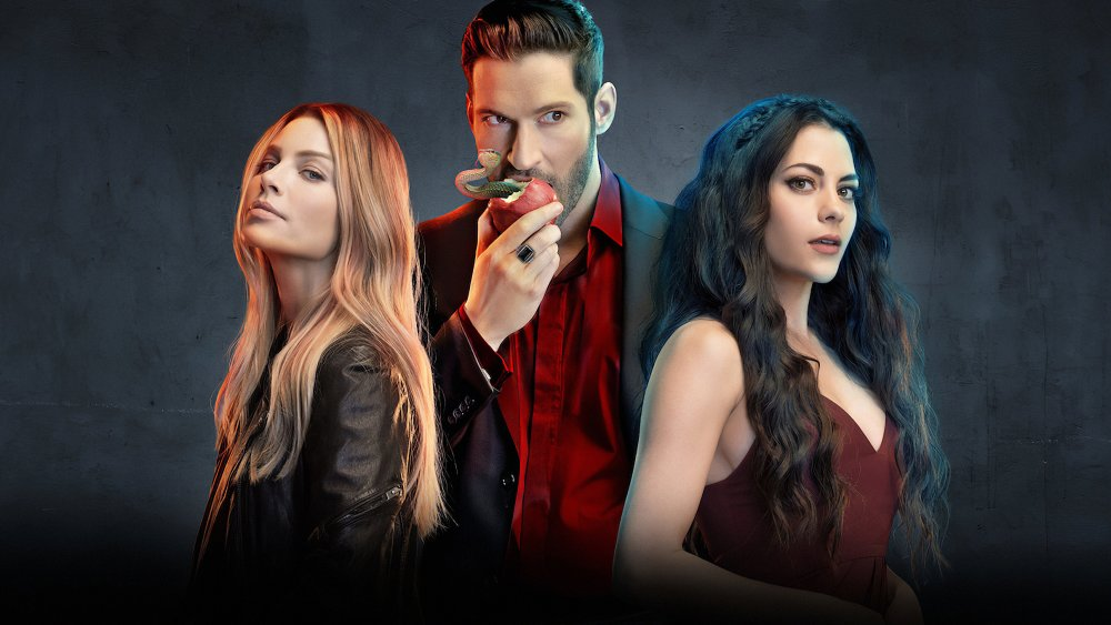 Tom Ellis, Lauren German and Lesley-Ann Brandt on Lucifer
