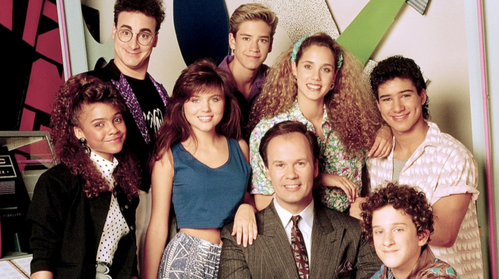The cast of Saved by the Bell season 1