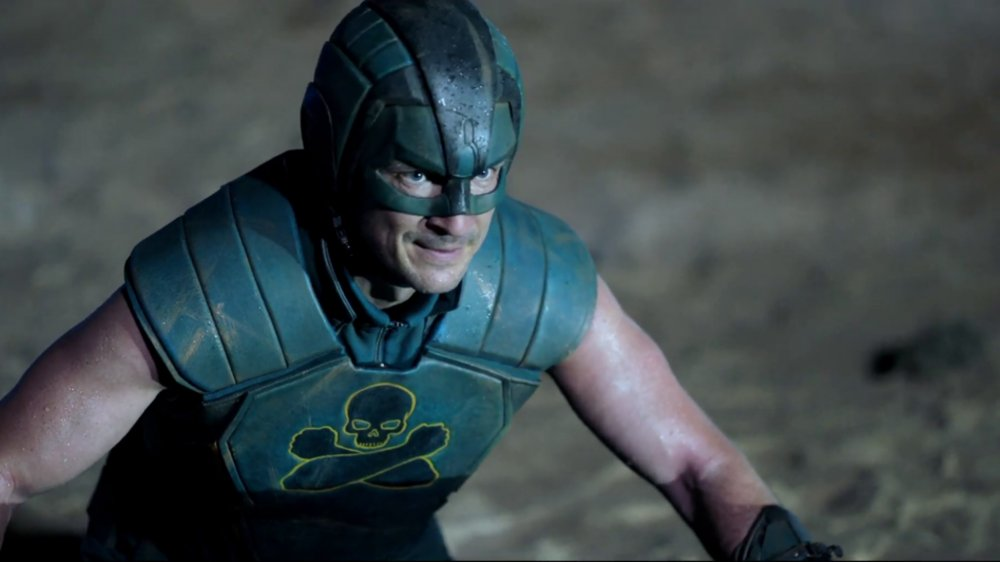 Nathan Fillion as TDK in The Suicide Squad