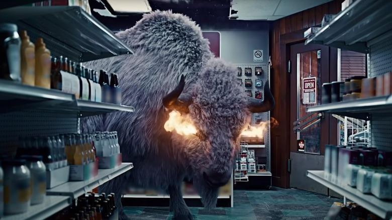 American Gods bison