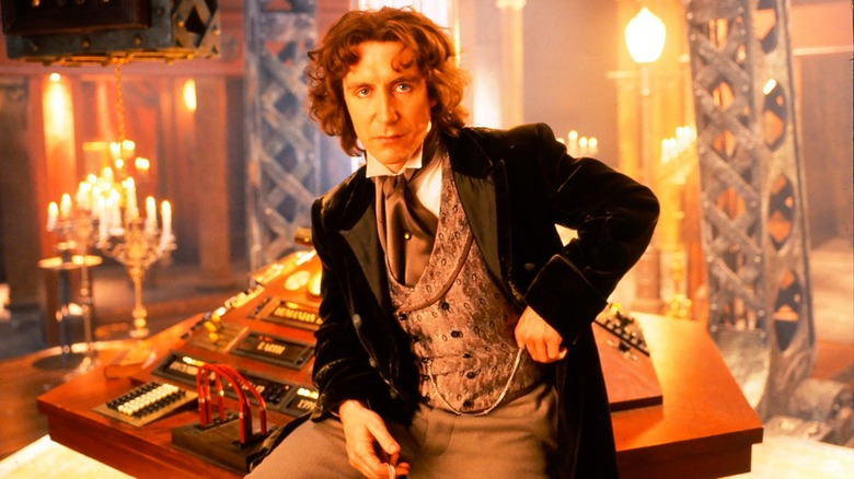 Paul McGann in the 'Doctor Who' movie