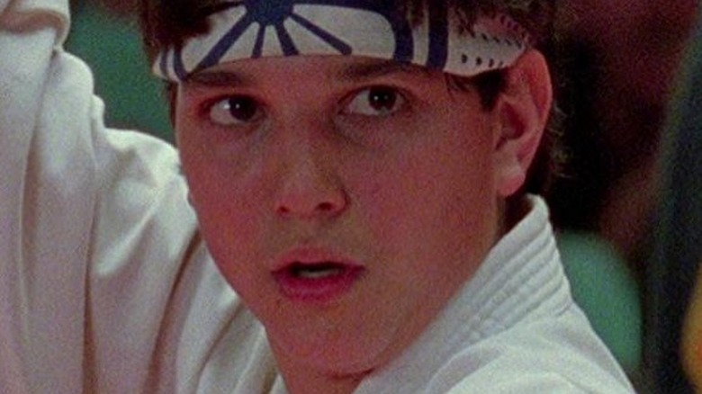 Daniel LaRusso ready to fight