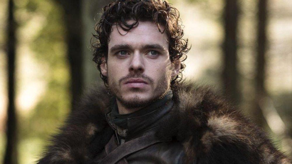 Richard Madden as Robb Stark on Game of Thrones