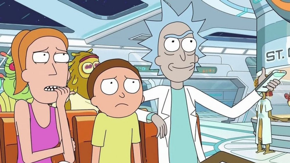 Still from Rick and Morty