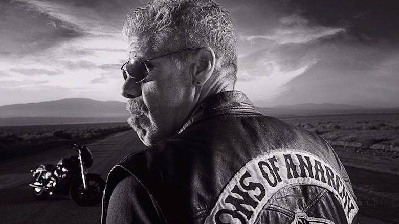 Ron Perlman as Clay Morrow on Sons of Anarchy