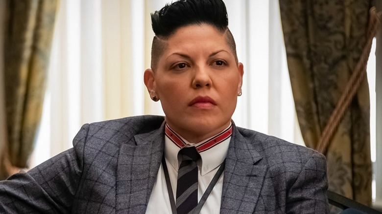 Sara Ramirez as Kate Sandoval in Madame Secretary