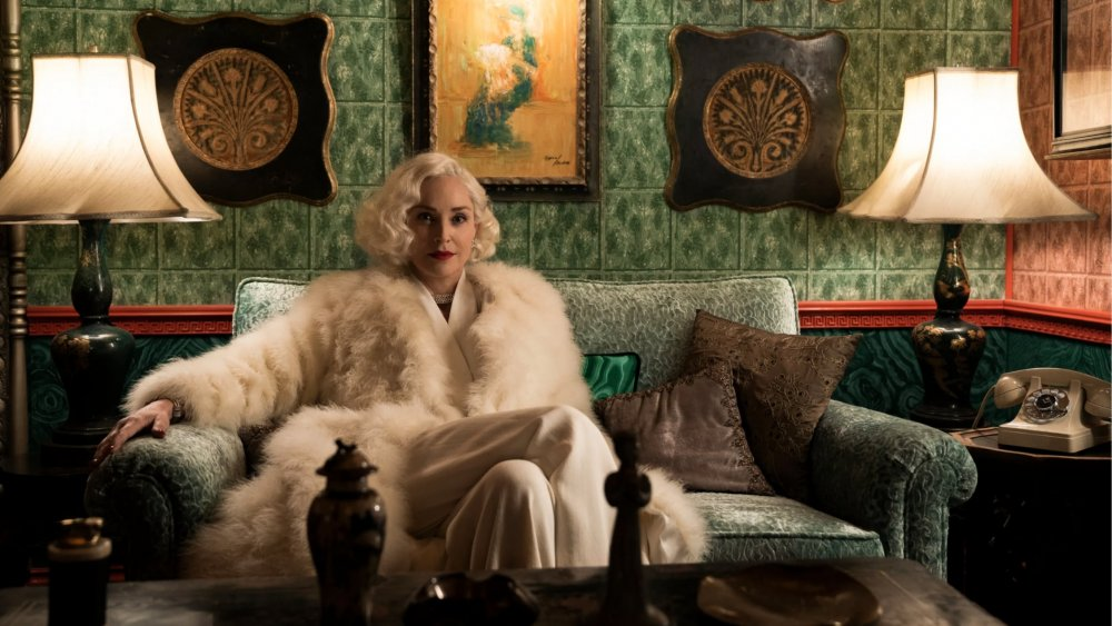 Sharon Stone as Lenore on Netflix's Ratched