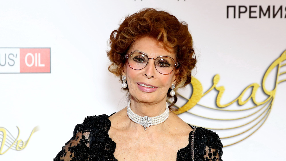 Sophia Loren attends the BraVo international professional musical awards on November 14, 2017 in Moscow, Russia