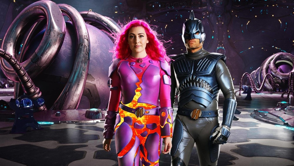 Sharkboy and Lavagirl strutting